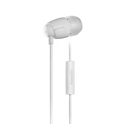 EDIFIER Earphone [H210P] - White - Earphone Ear Monitor / Iem